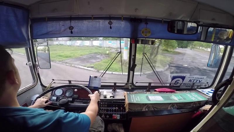 Краматорский троллейбус ЗиУ-9 0145. Маршрут 5. 15.09.2017