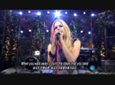 Avril Lavigne -When Youre Gone [Live Music Station] (FullHD 1080p)