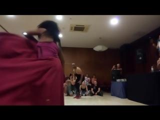 21-24.07.2018 Guaguanco festival 2018. Borys Lopez y Greechen Mendez. Ochosi y Yemaya.
