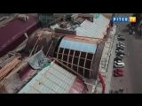 Как в Выборге ремонтируют крыши исторических зданий