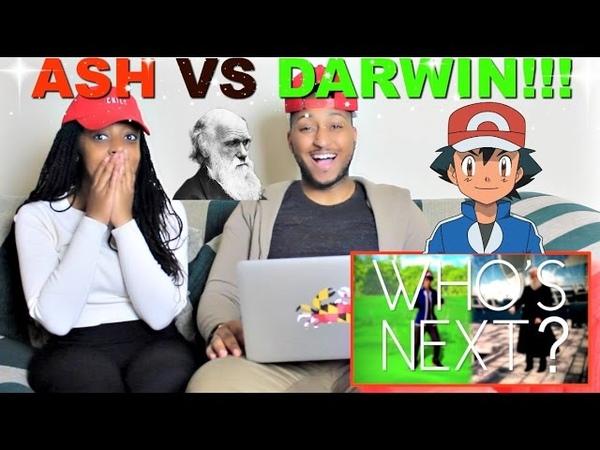 Epic Rap Battles of History Ash Ketchum vs Charles Darwin Reaction