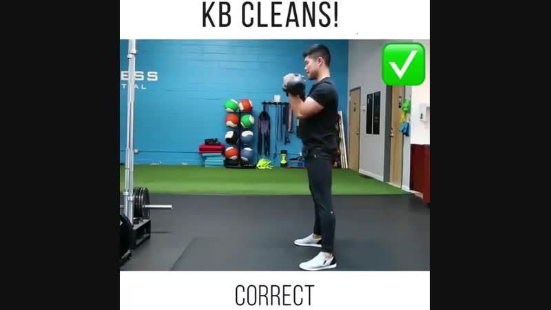 Strength of Body. Правильная техника выполнения упражнений с гирями, важно знать как не травмировать спину