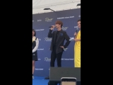 [FANCAM] 22.09.2018: Сончжэ @ Samsung Meet & Greet in Singapore