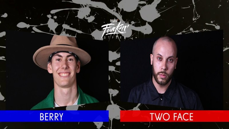 SNIPES FUNKIN STYLEZ 2018 - POPPING BEST 8 - BERRY vs. TWO FACE