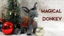 Magical Donkey | needle felting