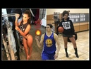 Klay Thompson's Girlfriend is HOT ! But she can HOOP as well !