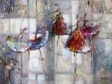 Mozart _ Clayderman - Elvira Madigan _ Irene Gendelman - paintings