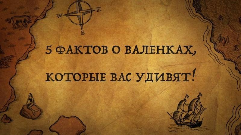 5 ФАКТОВ О ВАЛЕНКАХ, КОТОРЫЕ ВАС СИЛЬНО УДИВЯТ!