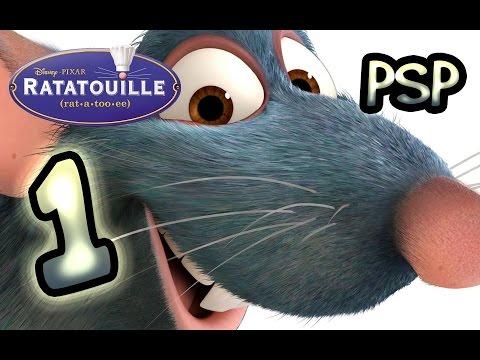 Ratatouille ~ The Movie ~ Game (PSP) Walkthrough Part 1 | 100%