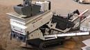 Telestack TC 421 tracked stockpiling conveyor