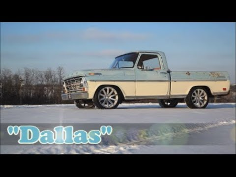 1968 Ford F-100 Dallas Hot Rat Street Rod Patina Pickup Truck FOR SALE!