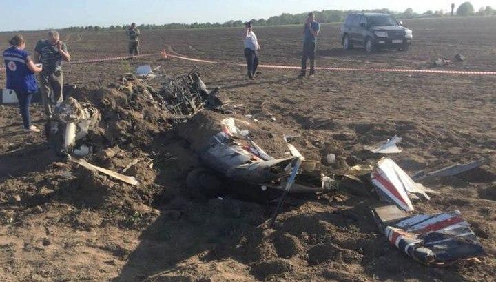 Смертельная посадка: Су-29 развалился и загорелся