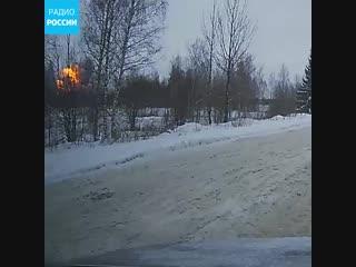 Момент взрыва на химзаводе в Кингисеппе попал на видео