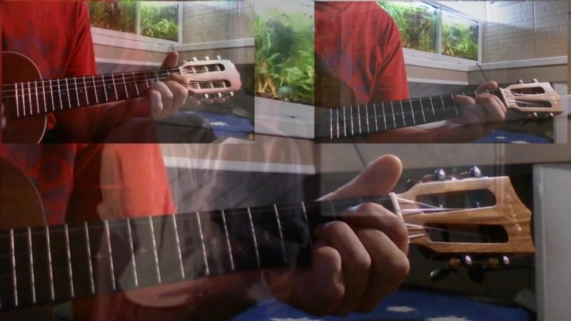 R.E.M. - Losing My Religion (ukulele guitalele)