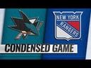 San Jose Sharks vs New York Rangers – Oct.11, 2018   Game Highlights   NHL 18/19   Обзор матча