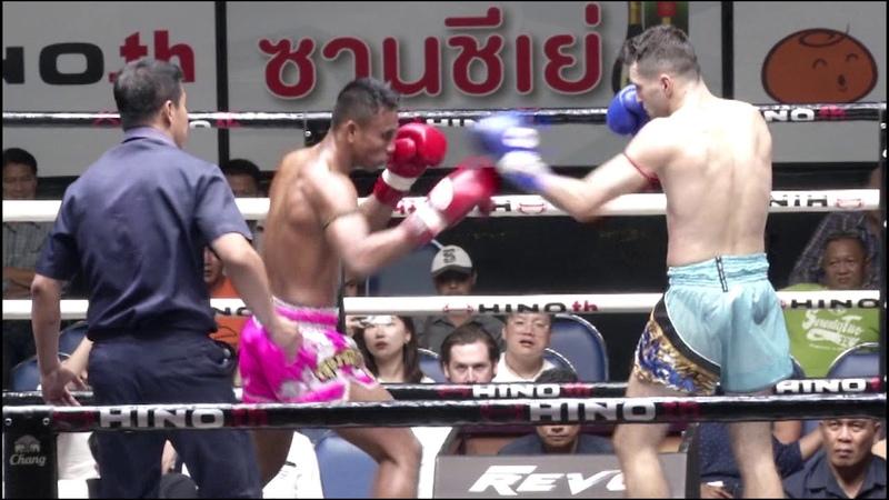 ก้องศักดิ์ พี เค แสนชัยมวยไทยยิมส์ VS ราฟฟ3