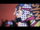 [FANCAM] EXIDs Hani Focus - Whoz That Girl 150925 Yong-In Songdam College Festival