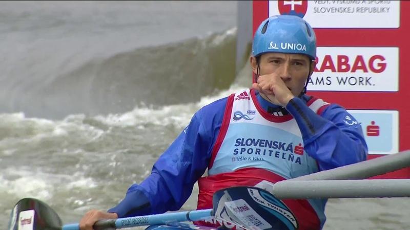 Jiří Prskavec (CZE) - Final K1M - 2016 ECA Canoe Slalom European Championships