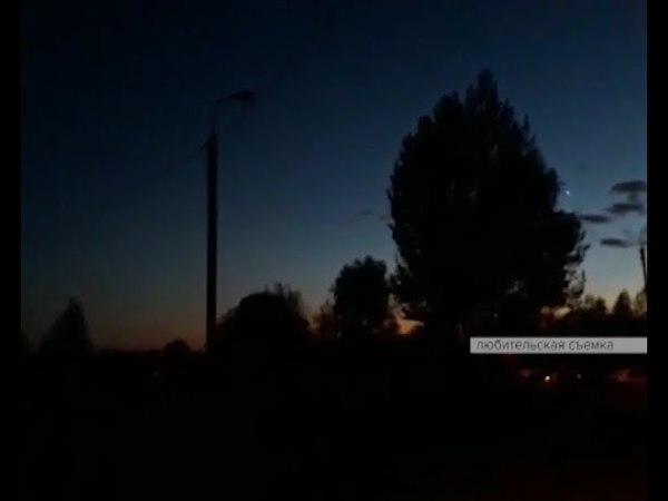 В одном из уфимских микрорайонов с заходом солнца наступает кромешная тьма