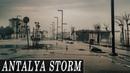 POWERFUL STORM ANTALYA. Who washed up on shore?! Кого вынесло на берег?