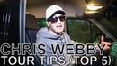 Chris Webby - TOUR TIPS (Top 5) Ep. 672