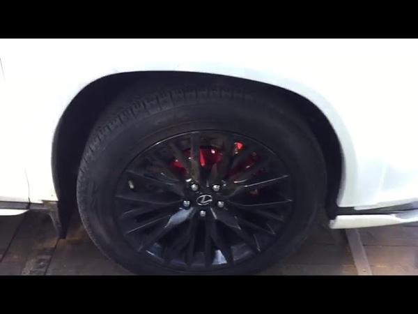 Аэродинамический обвес и тормозная система KIDO Racing Lexus RX 200T