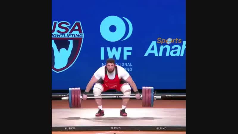 Лаша Талахадзе 200 кг
