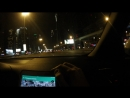 Night trip from Jumeirah palm to EGH by Zyad road, Dubai, OAE
