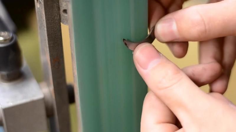 Микро нож из монет