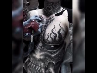 Tatto artist: •a l i n a • m y x a•