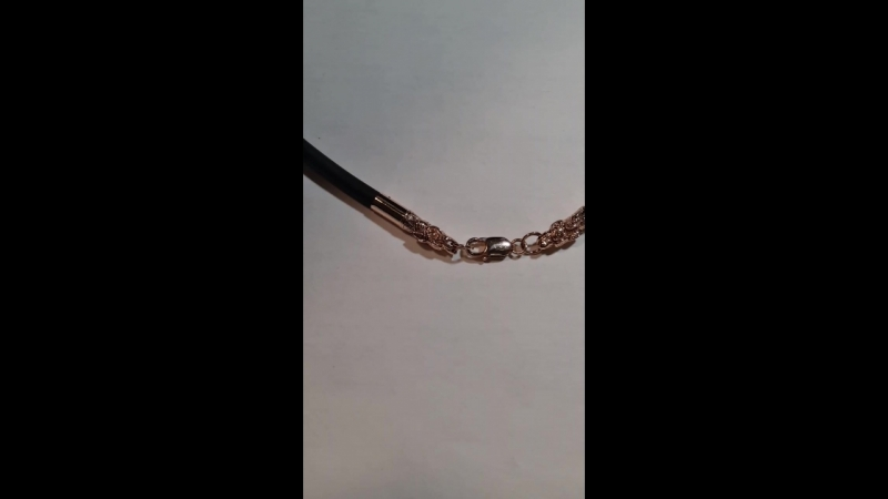 Концевики, дракон на кавчук,  кожу, катон. 8см на 0.6мм. Шнур 0.5мм. 585пр. 10/12 грамм с замком. 35$ за гамм.