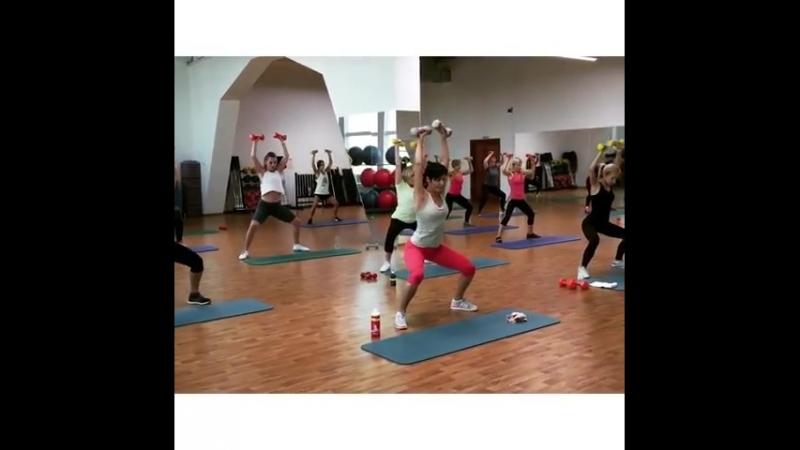 А у нас только что прошла тренировка Body Condition 🏋🏽♀️✨⚡️ под чутким руководством Александра Корнаухова💪🏼🔥 Ждём всех к нам на