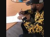 Kaaris signe le contrat