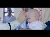 Красивое Крещение ребенка в соборе Александра Невского 2018. Видеосъемка Крещения видеограф