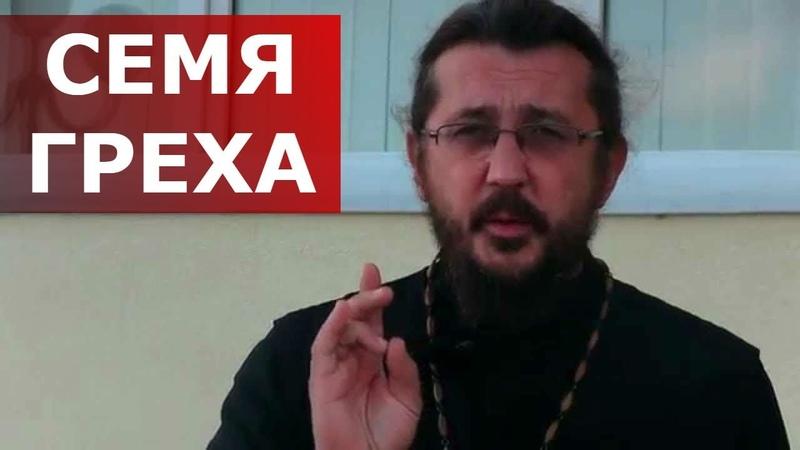 Семя греха. Священник Игорь Сильченков