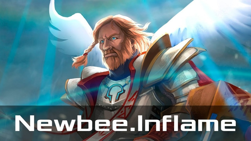 Newbee.Inflame — Omniknight, Offlane (Jan 15, 2019) | Dota 2 patch 7.20 gameplay