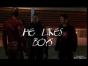 He Likes Boys   The Flash (Caitlin/Gay!Barry/Iris)