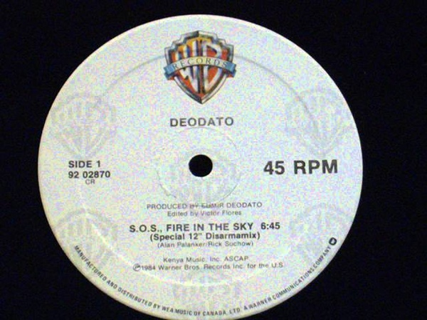 S.O.S. fire in the sky - Deodato