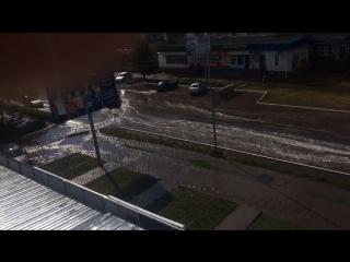 Наводнение после дождя