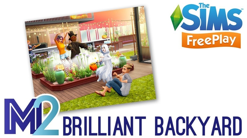 Sims FreePlay - Brilliant Backyards Event Prizes (Early Access)