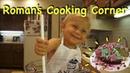 2-year-old bakes cake