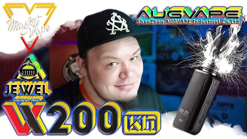 VX200 by Augvape | 200w BOX MOD | Вполне Норм!