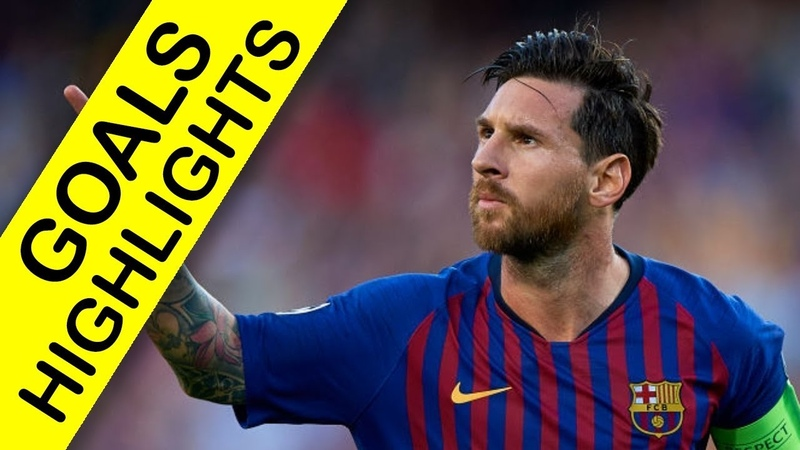 BARCELONA vs PSV EINDHOVEN - 18 SEP 2018 - UCL Goals Highlights
