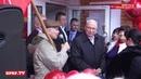 Открытие в Ангарске нового магазина Усольского свинокомплекса
