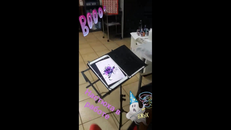 Настюха в деле TATTOO SPOT STUDIO