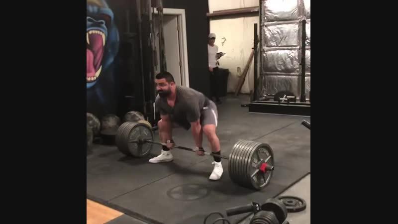 Тренировочная тяга 342 5 кг на 3 повторения от @