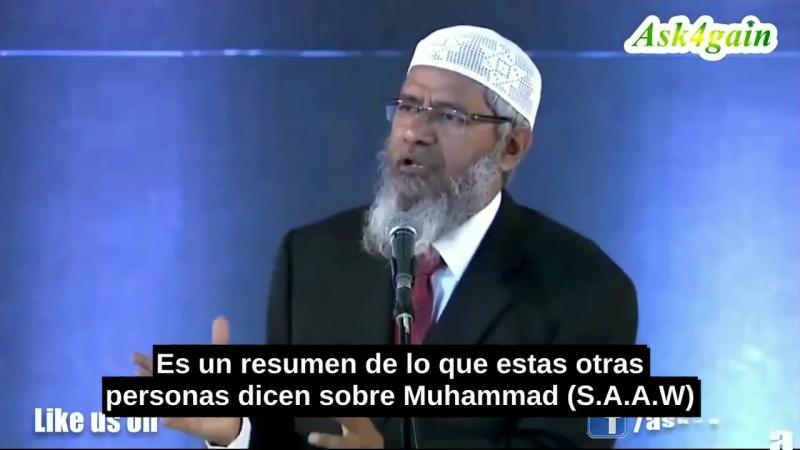 Un Católico Se Convierte Al Islam Después De Conocer Muhammad (S.A.A.W)-Zakir Naik[via torchbrowser.com]