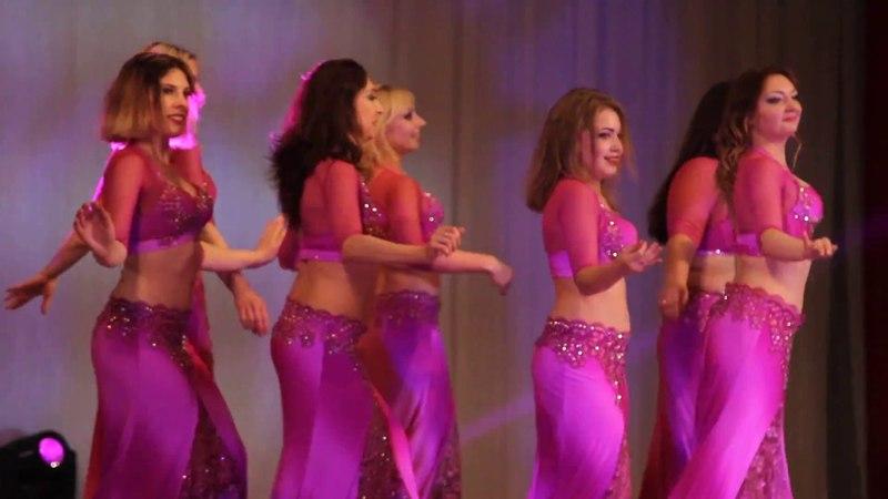 Школа восточного танца Бисер - Взрослые малая группа Lama Rah El Sabr Meno