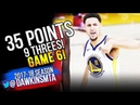 Klay Thompson Full Highlights 2018 WCF GM6 Golden State Warriors vs Rockets - 35 Pts! | FreeDawkins