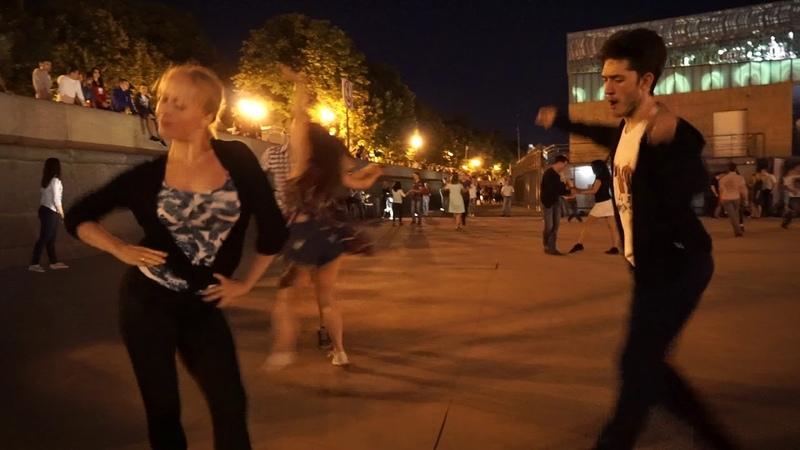 Джайв 3 Open air Бальные танцы в Парке Горького Москва 14 августа 2018
